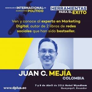 Seminario Internacional Marketing Político Juan Carlos