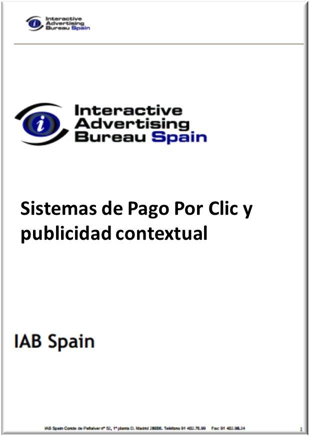Sistemas de Pago Por Clic y Publicidad Contextual