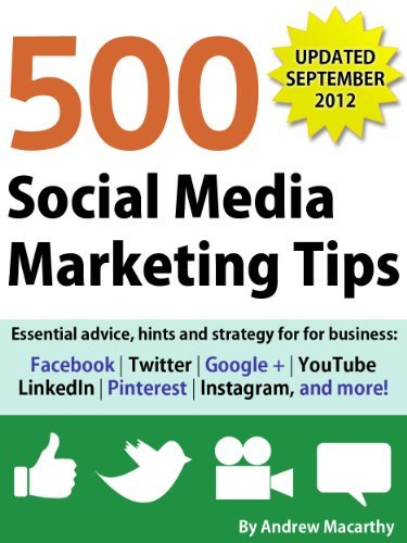 500 Social Media Marketing Tips 7 libros de Redes Sociales de 2012 que no pueden faltar en tu biblioteca