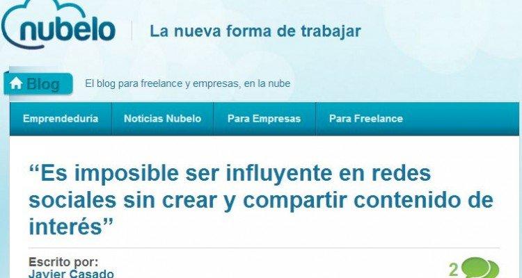 Juan Carlos Mejía en entrevista en Nubelo encabezado