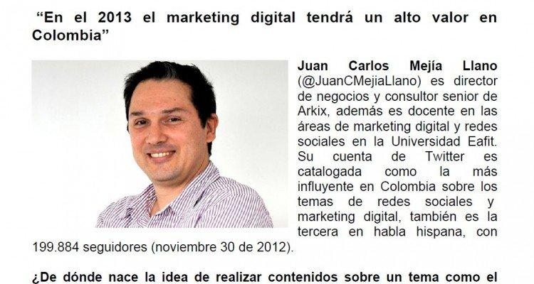 Hablando de Marketing Digital, Redes Sociales y Twitter
