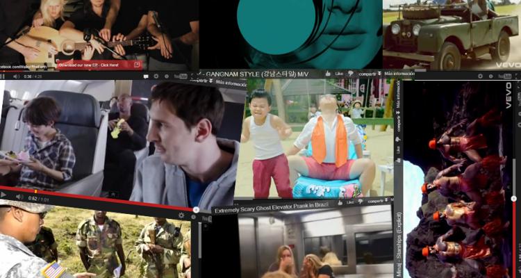Los diez videos más virales y compartidos de 2012 de acuerdo con Ebuzzing