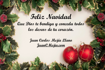Saludo navidad 2012 Blog Juan Carlos Mejia Llano