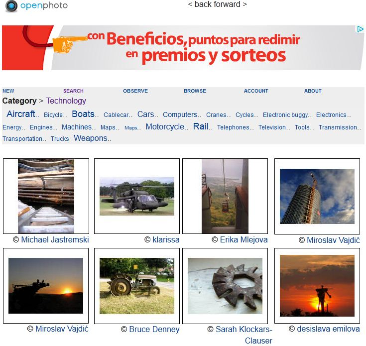 OpenPhoto JuanCMejia Los mejores 16 sitios con fotos e imágenes gratis para usar en el blog, Facebook, Google+ y otros