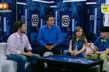 Juan Carlos Mejía Llano hablando sobre el Community Manager en el programa de TV Trending Topic