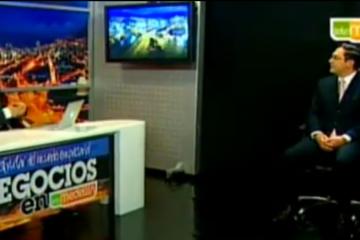 Juan Carlos Mejia Llano en el programa Negocios en Telemedellin - Crowdsourcing
