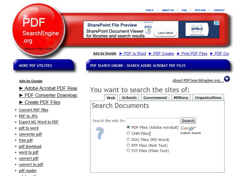 PDF Engine Search