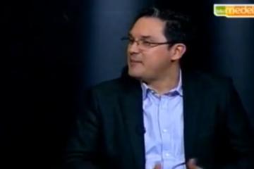Juan carlos mejia llano hablando de Big Data en el programa de TV Negocios en Telemedellin
