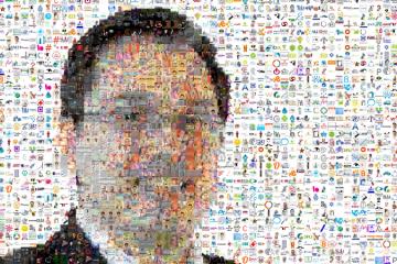 Juan Carlos Mejía Llano con fotos de seguidores de Twitter