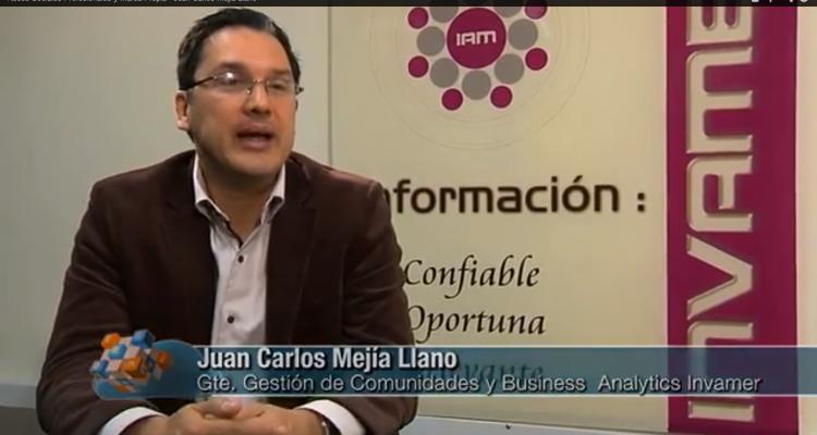 Juan Carlos Mejía hablando de Marca Personal y LinkedIn en La Nube de Teleantioquia