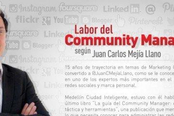 Encabezado artículo infografía de labor de Community Manager