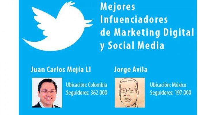 Juan Carlos Mejía Llano cuenta más influenciadora en los temas de redes sociales y marketing digital según el portal MarketingandWeb.es