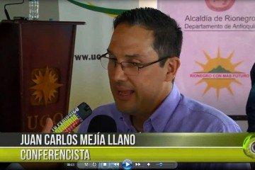 Juan Carlos Mejía Llano Conferencia Rionegro