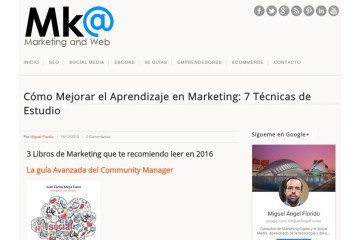 La guía Avanzada del Communty Manager recomendada pr el portal MarketingAndWeb.es