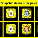 Código Snapchat de las principales marcas del mundo