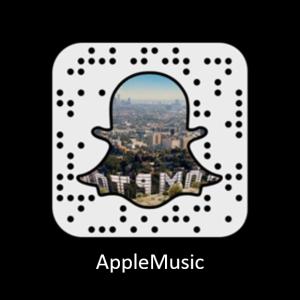 Apple Music Codigo Snapchat