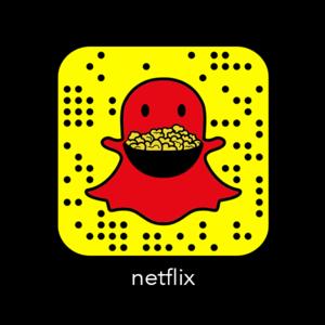 Netflix Código Snapchat
