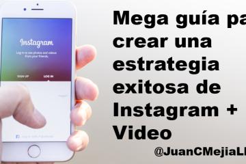 Estrategia de Instagram