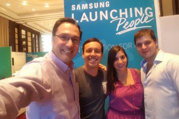 Juan Carlos Mejia Llano juez de hackathon organizada por de Samsung