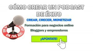 Banner Curso Podcasting