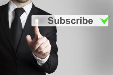 Suscriptores newsletter