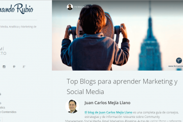 Blog JuanCMejia entre los mejores para aprender marketing y social media