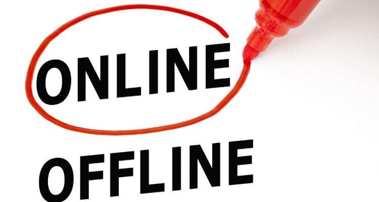 Pasar el mundo offline a online