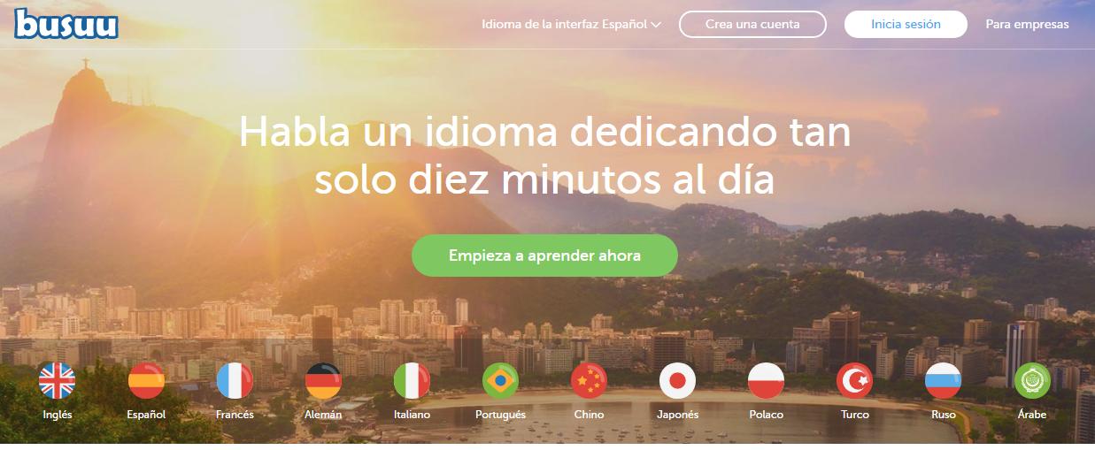 Busuu Aplicación aprender inglés