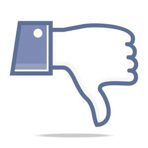 Motivo para eliminar Facebook